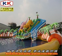 Inflatable Water Swimming Pool Backyard Garden Rain Forest Adventure Toys Kids