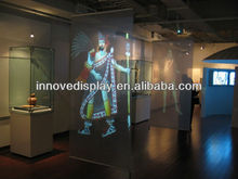Projector screen holographic film transparent grey white dark grey available