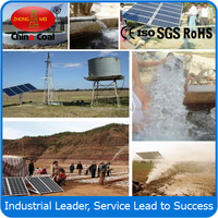 solar powered irrigation water pump system with panel,sensor,controller