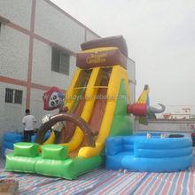 cat inflatable slide , NO.2012 undersea world inflatable slide