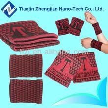 Popular magnética cómodo elástico de la venda de muñeca pulseras antiestáticas