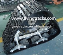 rubber track system \ rubber track kits for pickup off-road jeep