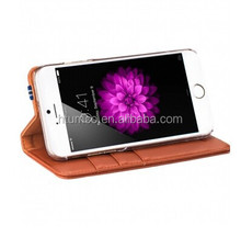 Bzone Series Book Style Case,mobile phone sheath,Cow Leather sheath for Apple iPhone 6 5.5""