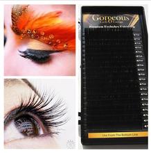 F0-21 Synthetic Hair,PBT Korea fiber Material and Hand Made ,0.07 0.05 mink eyelash extension