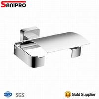New design brass bathroom wall mounted tissue wall roll holder
