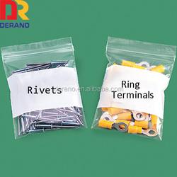 ldpe resealable printed plastic tool packing zip lock bag
