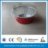Disposable With Plastic Dome Lid Smooth Wall Aluminum Foil Container