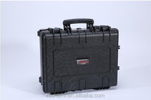 Factory plastic waterproof tool box carrying case hard handheld case for glass blowing tools