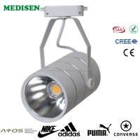 3w-5w-7w-9w-12w-15w-18w BRIDEGELUX chip COB track light clothing store engineering lighting LED light China's export cri>85