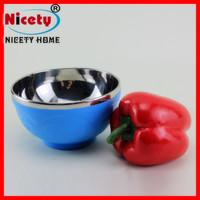 New Design Popular kids style stainless steel small bowl with multicolour