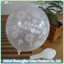 birthday party transparent balloon decoration/clear balloon/latex balloon