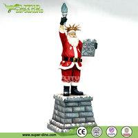 Santa Claus Cartoon Statue of Liberty