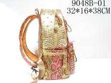 Best Selling Snake Skin PU Backpack