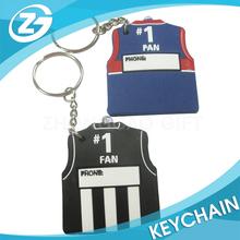 High Quality Soft pvc Plastic Keychain
