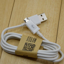 factory product 1 meter PVC white samsung s4 cable charger cable