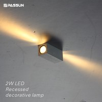 mini embedded led decorative light fixture