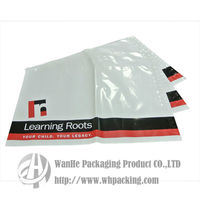 White black mailing bags plastic bags for clothes