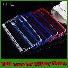 Cell Phone Ultra Thin TPU Case Cover For Samsung Note 4