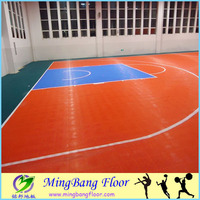 outdoor pp interlocking plastic floor tiles basketball court sport flooring for sale