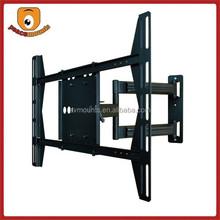 Black Full-Motion Tilt/Swivel large full motion mount for 37-55 inches LCD/DVD Combo HDTV TV/Television