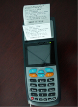 Handheld electronic bus ticketing machine with Bluetooth 3G WiFi Camera for high-end programmingHandheld electronic bus ticketin