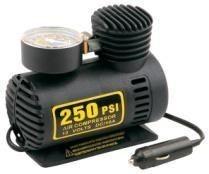 New 250 PSI 12V Car Auto Portable Pump Mini Air Compressor w/gauge Tire Inflator