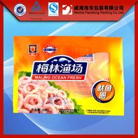 hot sale custom frozen dumplings food packaging pouch bag