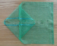 40x60 PE Raschel knitted net bags for vegetables
