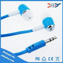 Free sample in ear earphone for mp3 player wholesale