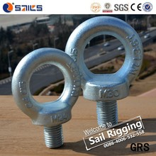 24mm Galvanized Drop Forged Lifting Din580 Eye Bolt
