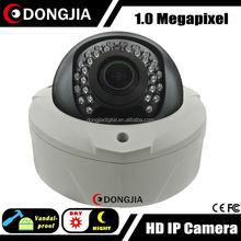 Outdoor/indoor poe onvif motion detection p2p network IP Camera 720P Dome