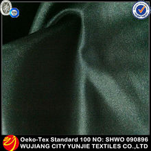 satin umbrella fabric/100 polyester black satin fabric/100% poly satin fabric