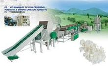 PP PE film recycling line/plastic film recycling line/film recycling machines