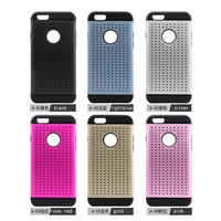 Wholesale Alumium Metal Case for Iphone 5 With Tpu Inside Hybrid Case Back Cover for I5