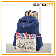 2015 Hot Design Backpack For College With Light Weight For Student