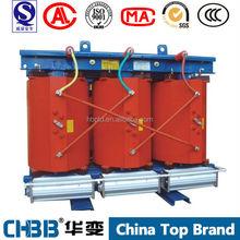 SCB10 series 6kv 6.3kv 6.6kv 10kv 11kv 13.8kv 63kva cast resin electrical power dry type transformer manufacturer