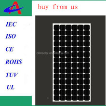 color portable best price power 200W mono solar panel
