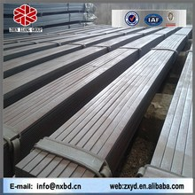 astm standard prime black low carbon iron and flat rolld product flat bar made in china