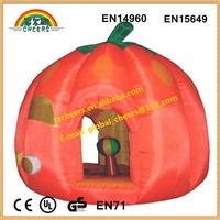 Pumpkin inflatable bouncer,Halloween bouncers,festival bouncer