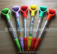 Cheap advertising promotional wholesale ball pen with massage