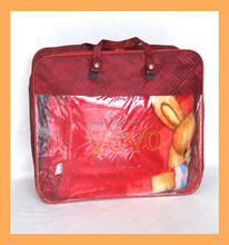genuine pu leather bag for packing