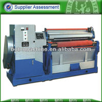 Hydraulic leather fleshing machine