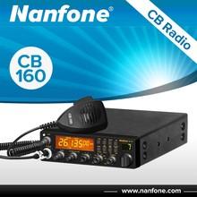 Nanfone CB-160 Large LCD Dispaly AM FM USB SSB PA CW 10m Vehicle CB Radio