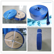 Agricultural water hose,PVC lay flat water pipe ,high pressure irrigation hose expandable pipe