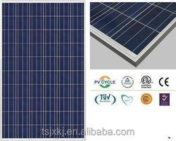 high effeciency fully certified the lowest price solar panel 255watt poly solar module under low price per watt
