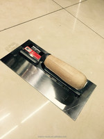 Plastering trowel 280x130mm wood handle trowel