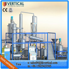 Industrial Oil Recycling Oil Filtration System Used Motor Oil Distillation Machine