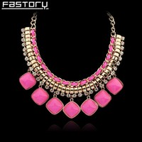 factory supply fully stocked 1hour replied 2015 latest design gold bead fashion statement necklace