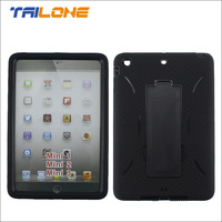 shockproof silicon case for ipad mini, for ipad mini 3 case