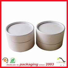 white color paper tube wholesale cosmetic packaging supplies skin care products packaging